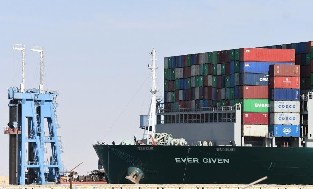 السفينة إيفر غيفن - فرانس برس