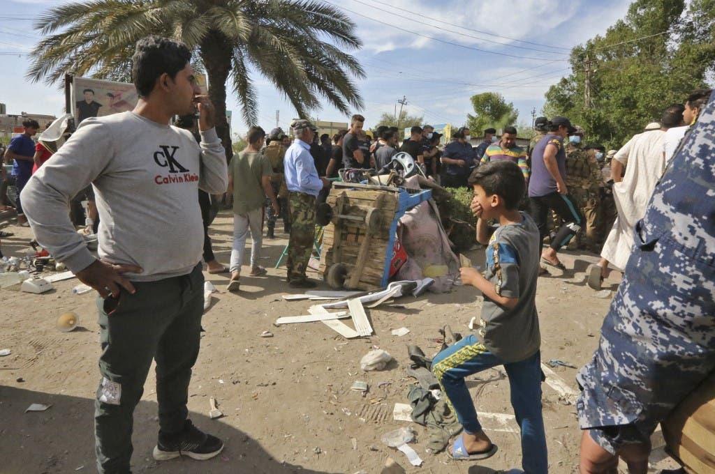 من هجوم مدينة الصدر في العراق - فرانس برس
