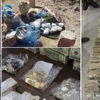 """عراق : سونے اور ڈالروں پر مشتمل """"داعشی"""" خزانے کی وڈیو"""