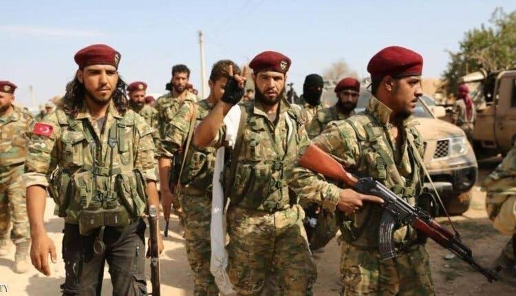 نیروهای مورد حمایت ترکیه در لیبی