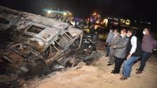 مصري أنقذ ابنه بإلقائه من حافلة محترقة.. ومات!