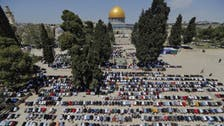 Muslims mark first Ramadan Friday prayers in Jerusalem