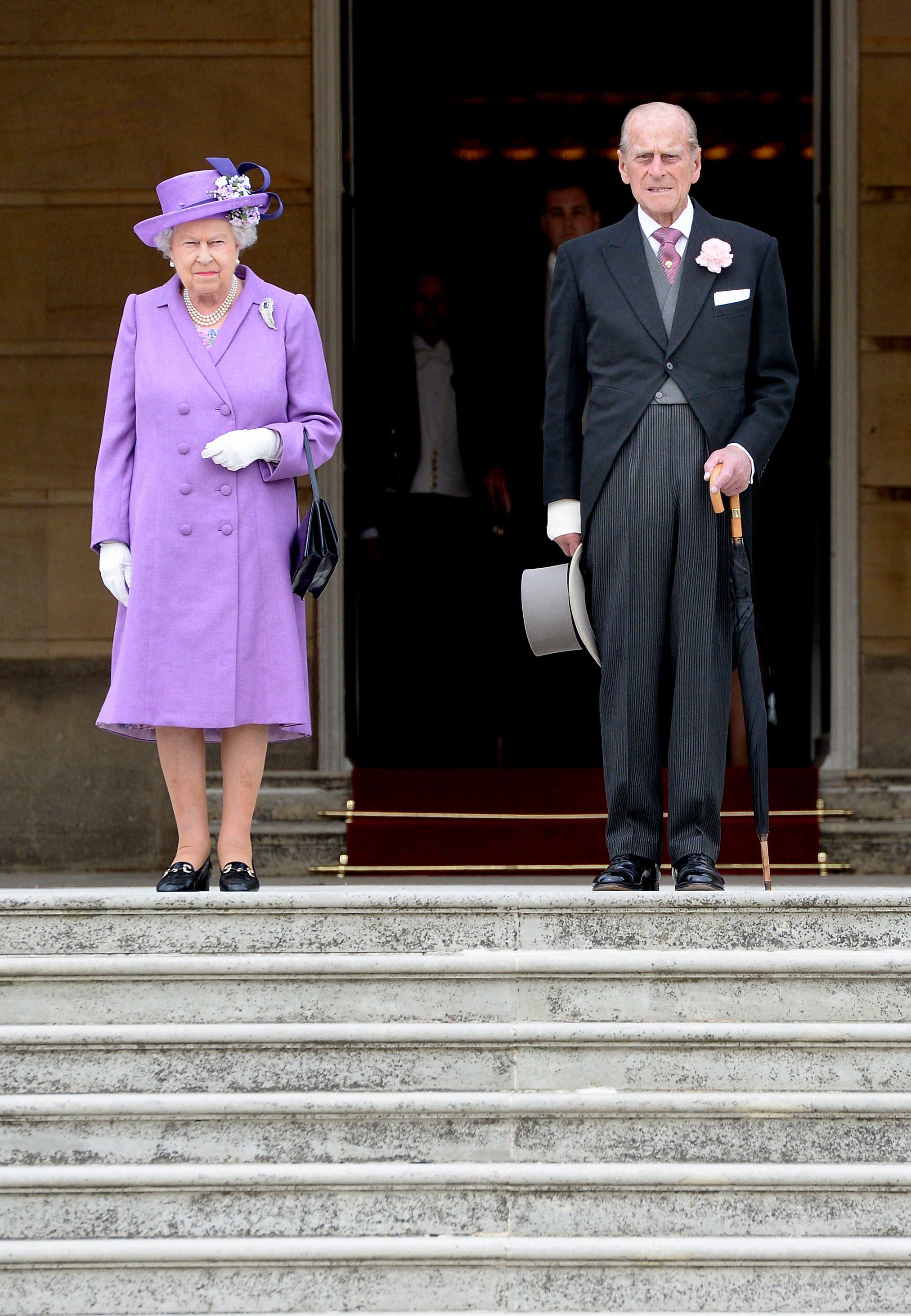 ملكة بريطانيا والأمير فيليب - صورة أرشيفية