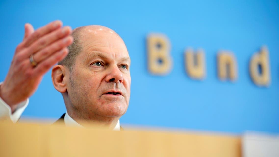 وزير المالية الألماني أولاف شولتز