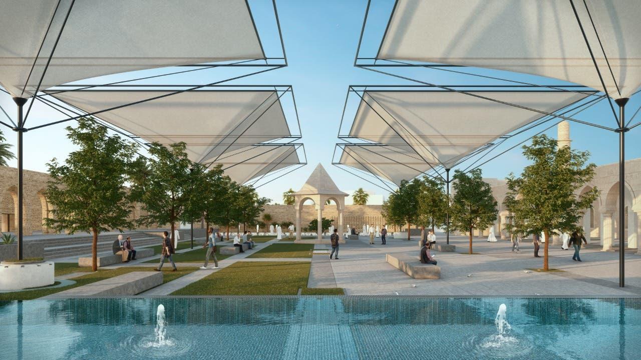 تصميم جامع النوري الجديد