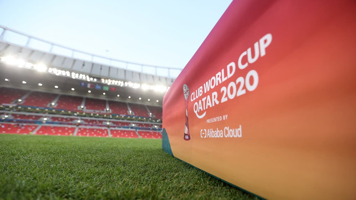 Soccer Football - Club World Cup - Fifth Place Match - Ulsan Hyundai v Al Duhail - Ahmad Bin Ali Stadium, Al Rayyan, Qatar - February 7, 2021 General view inside the stadium before the match REUTERS/Ibraheem Al Omari
