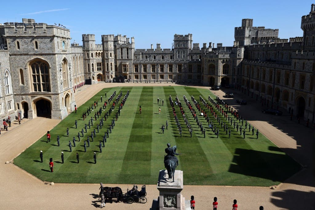 مراسم تشييع الأمير فيليب