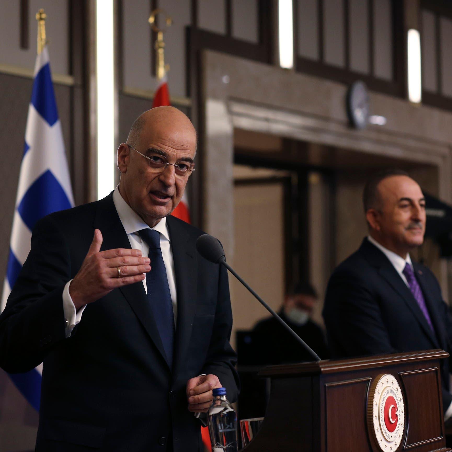 لحظات الشجار الغريب حاضرة.. وزيرا تركيا واليونان يعلقان