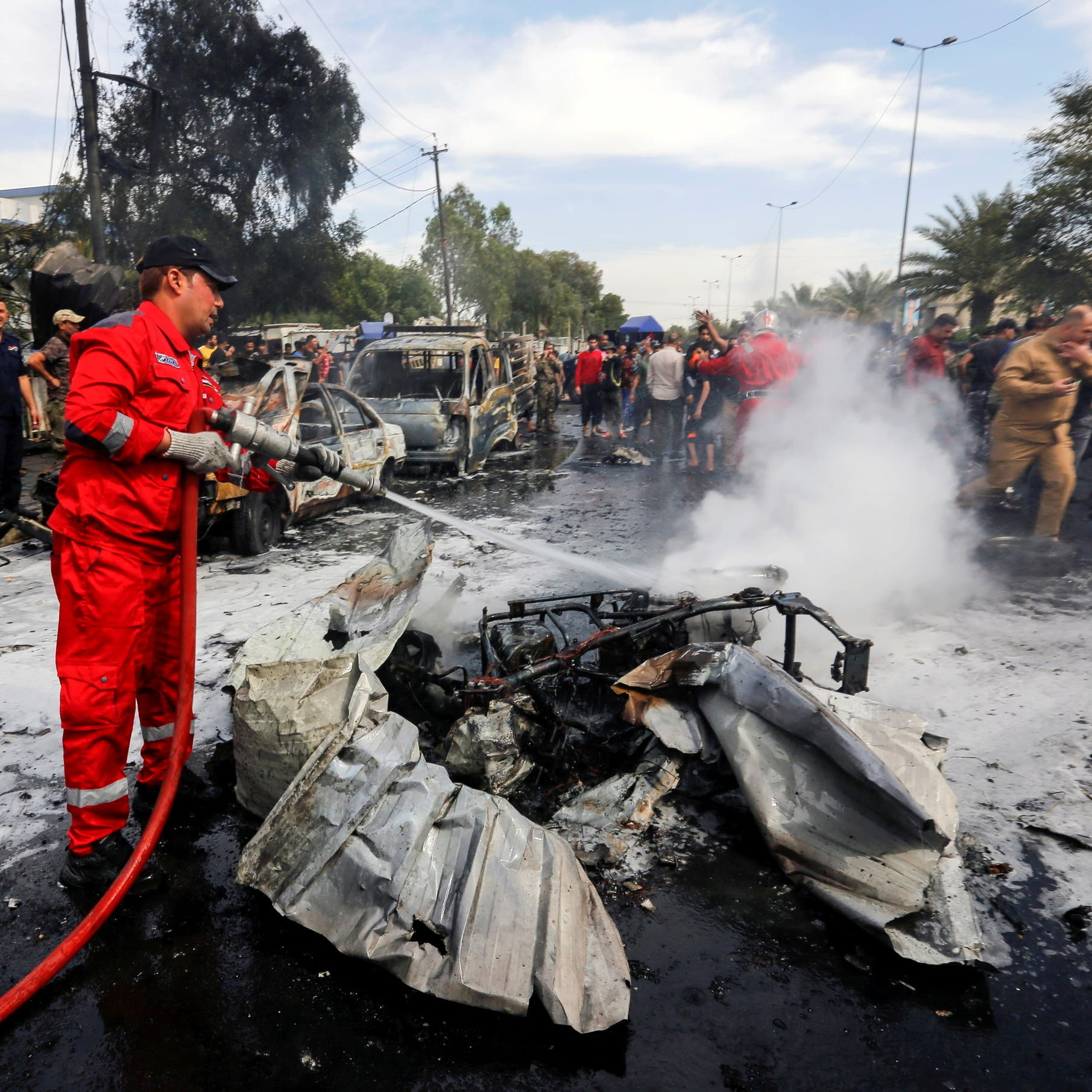 العراق: اعتقال خلية داعشية نفذت تفجير مدينة الصدر
