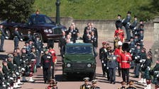Prince Philip's body lowered into Royal Vault as funeral nears its close