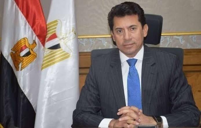 وزير الشباب المصري أشرف صبحى