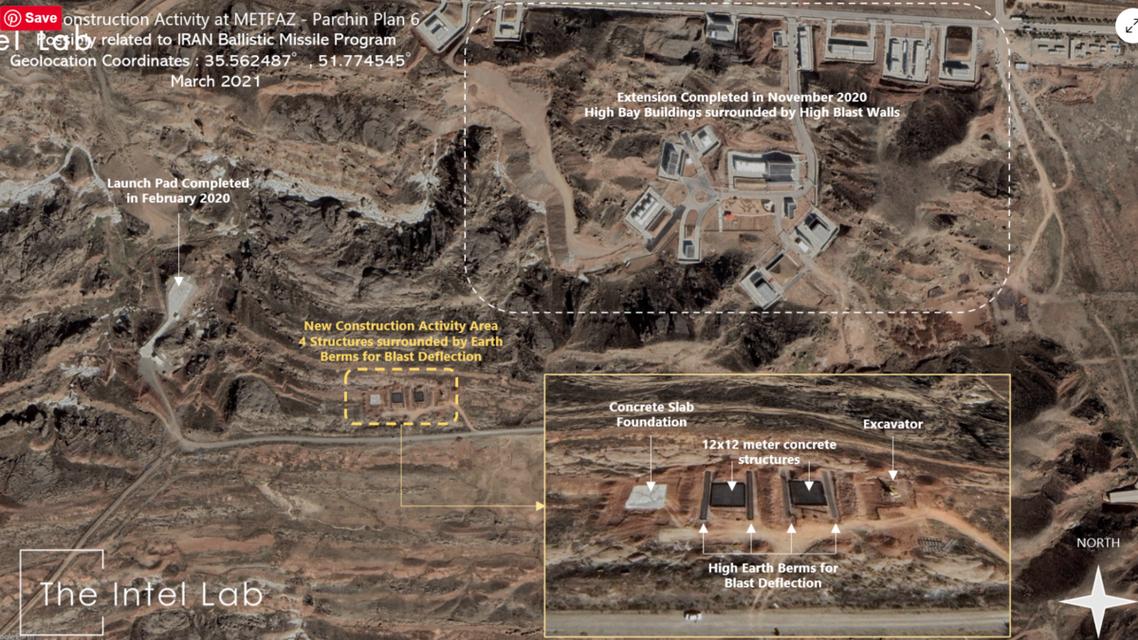 مجمع بارشين العسكري في إيران