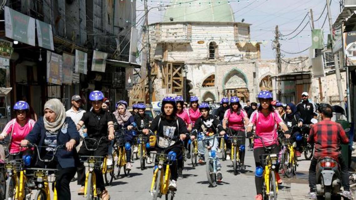 دوچرخهسواری زنان موصل