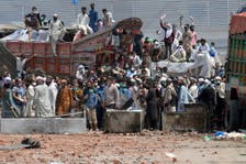 Deadly clashes after TLP take police hostage in Pakistan's Lahore