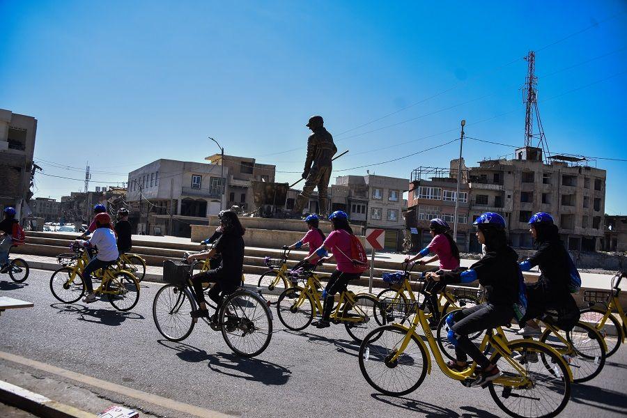 دوچرخهسواری بانوان  در موصل