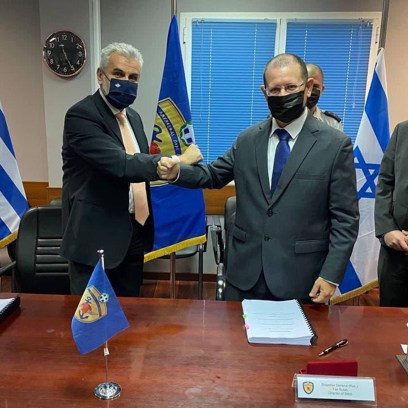 اليونان وإسرائيل توقعان أكبر صفقة تسلح بينهما