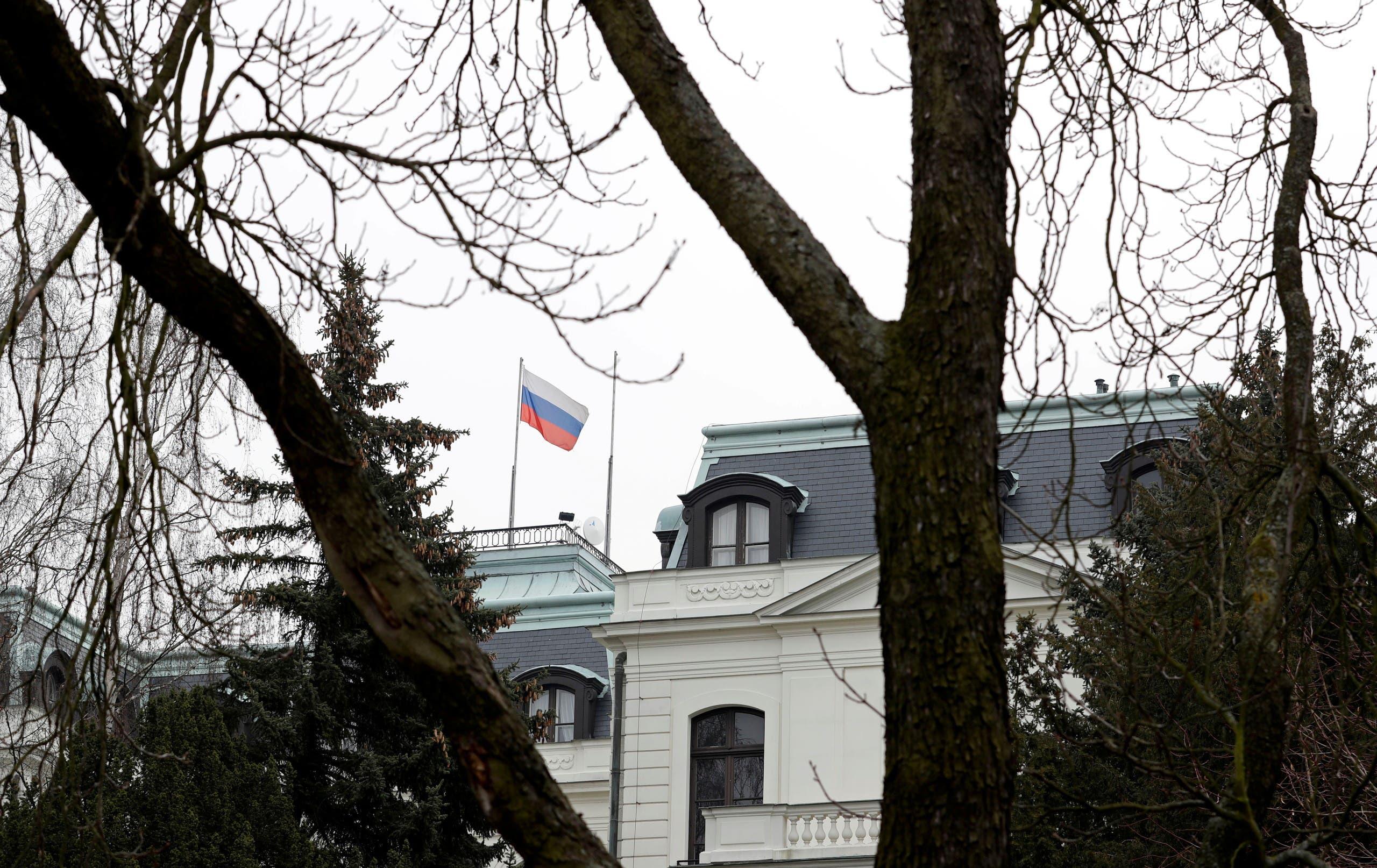 سفارة روسيا في براغ