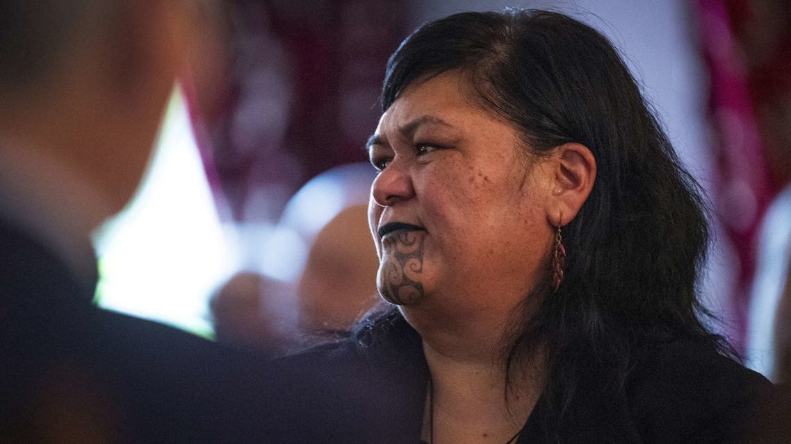 New Zealand's Foreign Minister Nanaia Mahuta (C) attend a cabinet meeting at the Parliament House in Wellington on November 6, 2020. (File photo: AFP)
