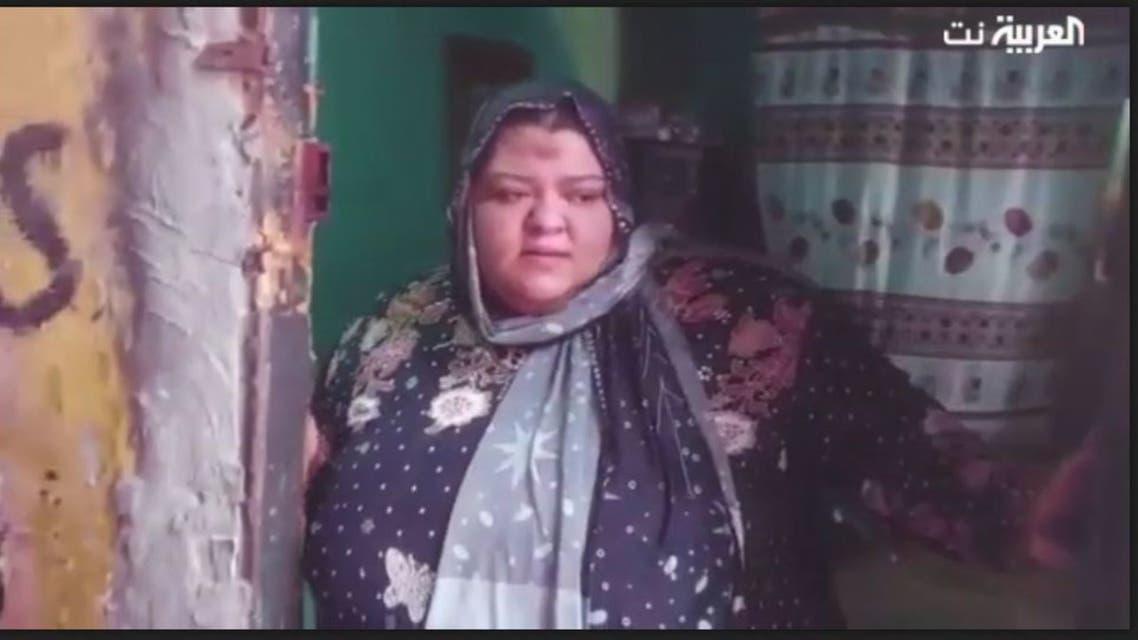 سيدة مصرية وزنها ربع طن