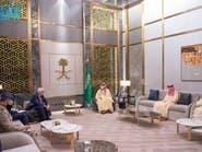 ولي العهد السعودي يناقش مع مبعوث بريطاني الأحداث الإقليمية