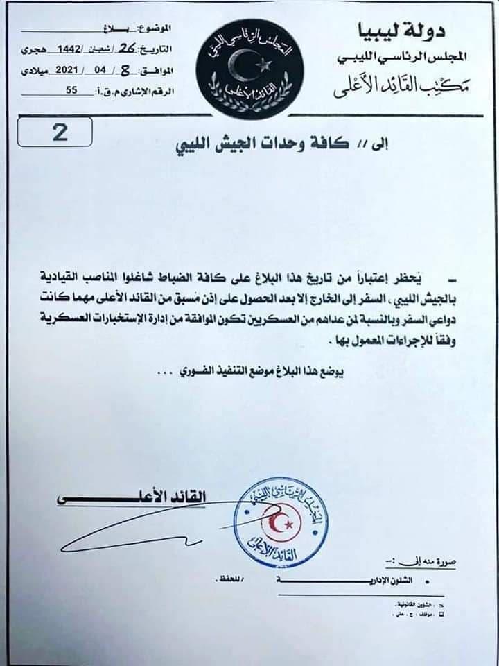قرار المجلس الرئاسي