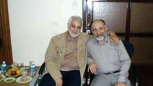 محمد حجازی و قاسم سلیمانی