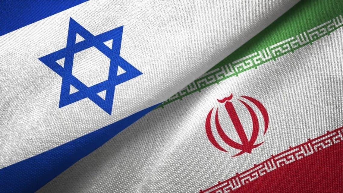 پرچم اسرائیل و ایران
