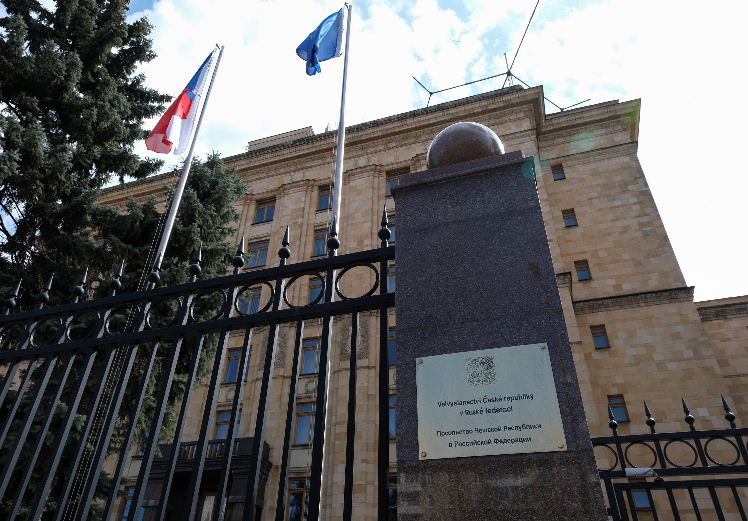 سفارة تشيكيا في موسكو