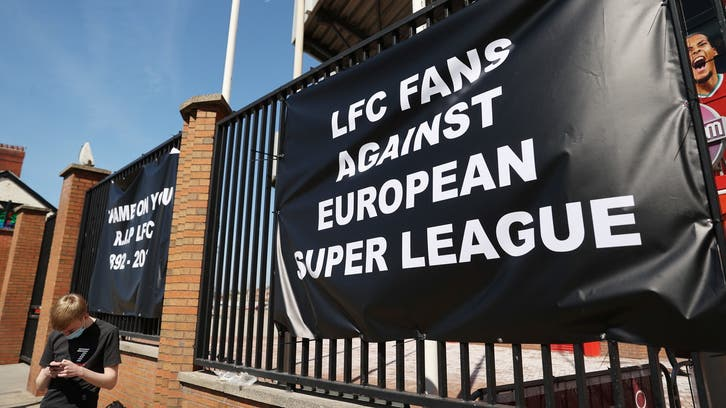 Controversial breakaway football Super League announced with Man United, Liverpool