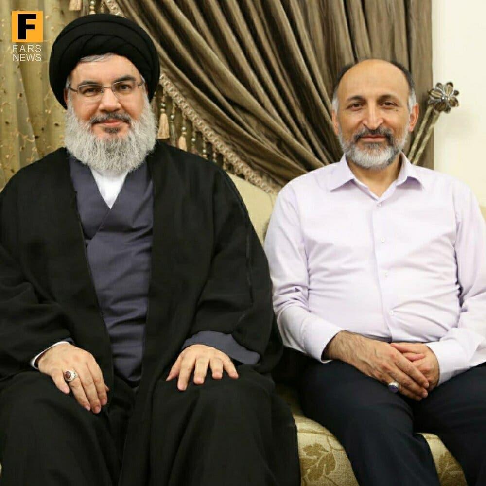 محمد حجازی و حسن نصر الله