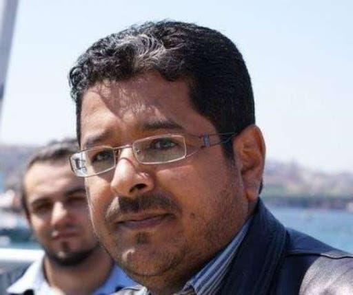 صورة نشرتها مواقع يمنية للإعلامي طه المعمري