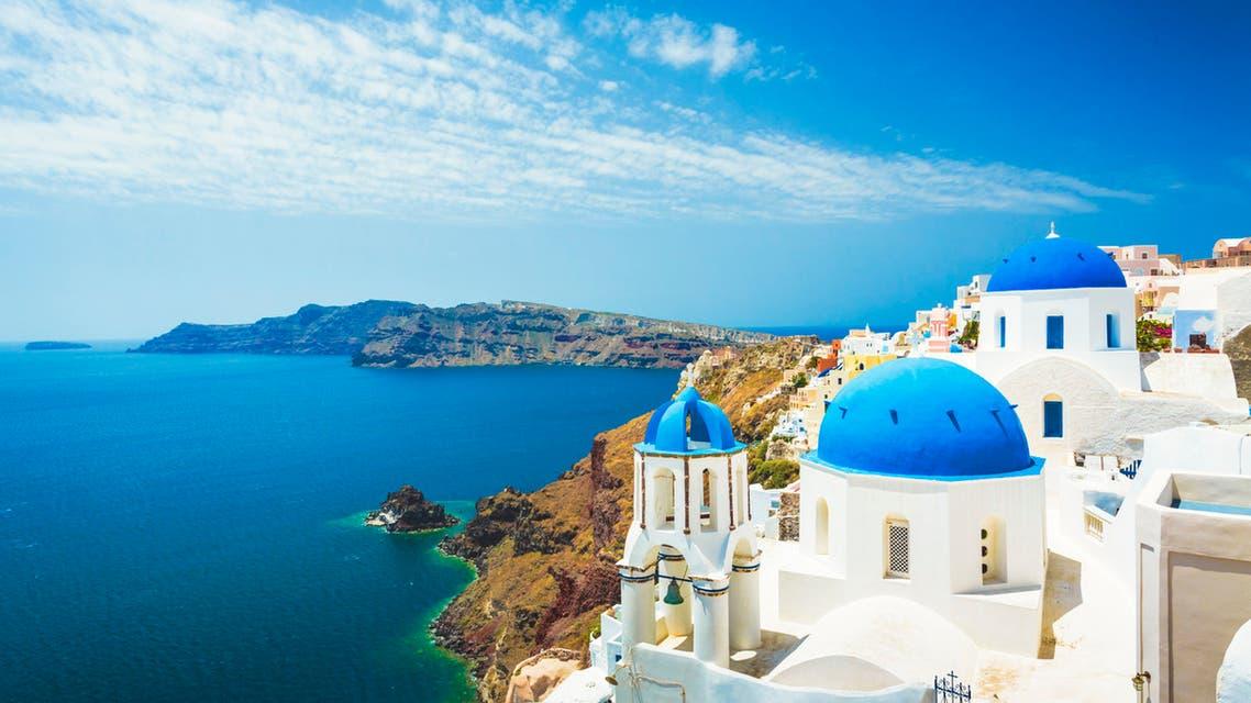 سانتوريني في اليونان