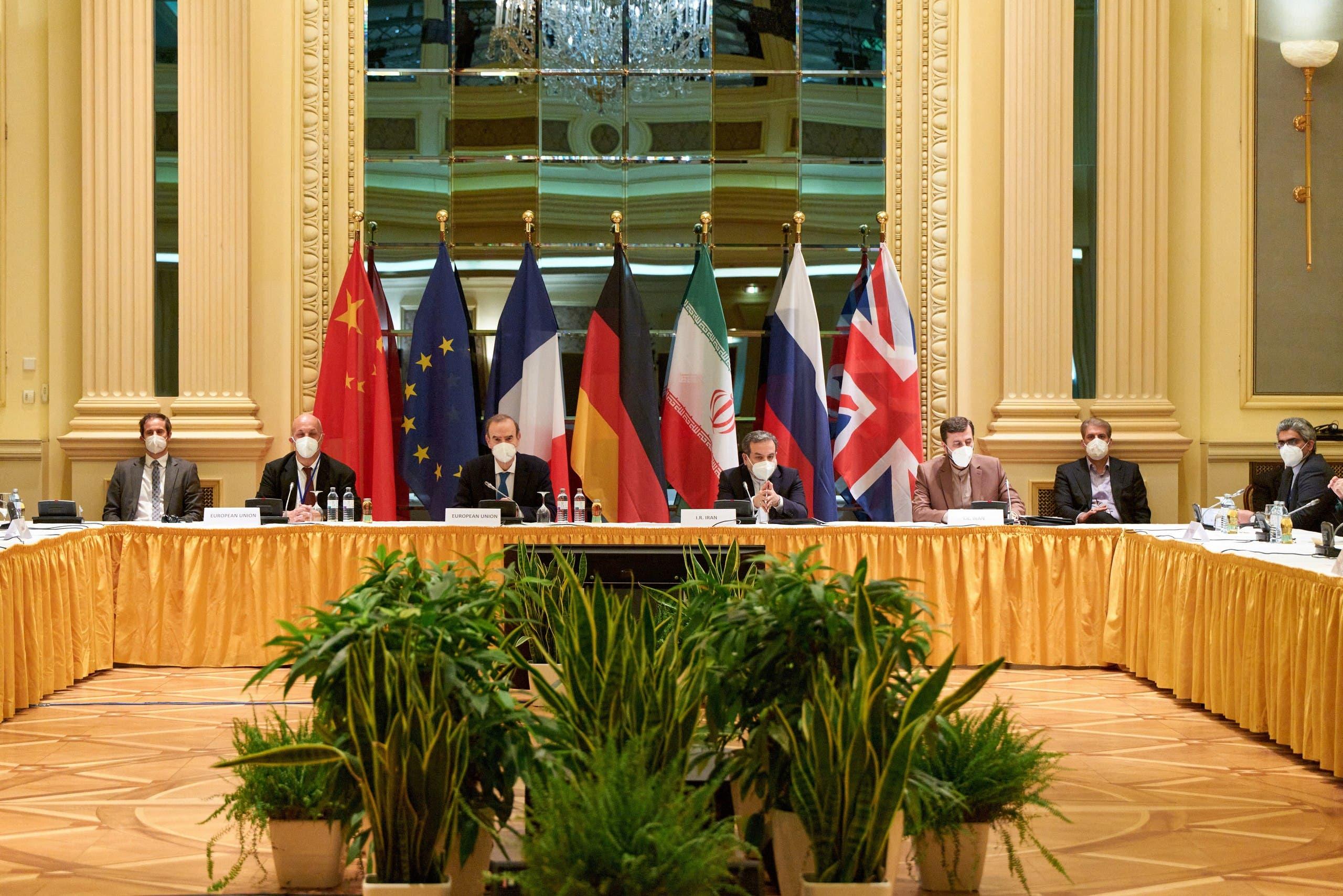 من المفاوضات النووية مع إيران في فيينا