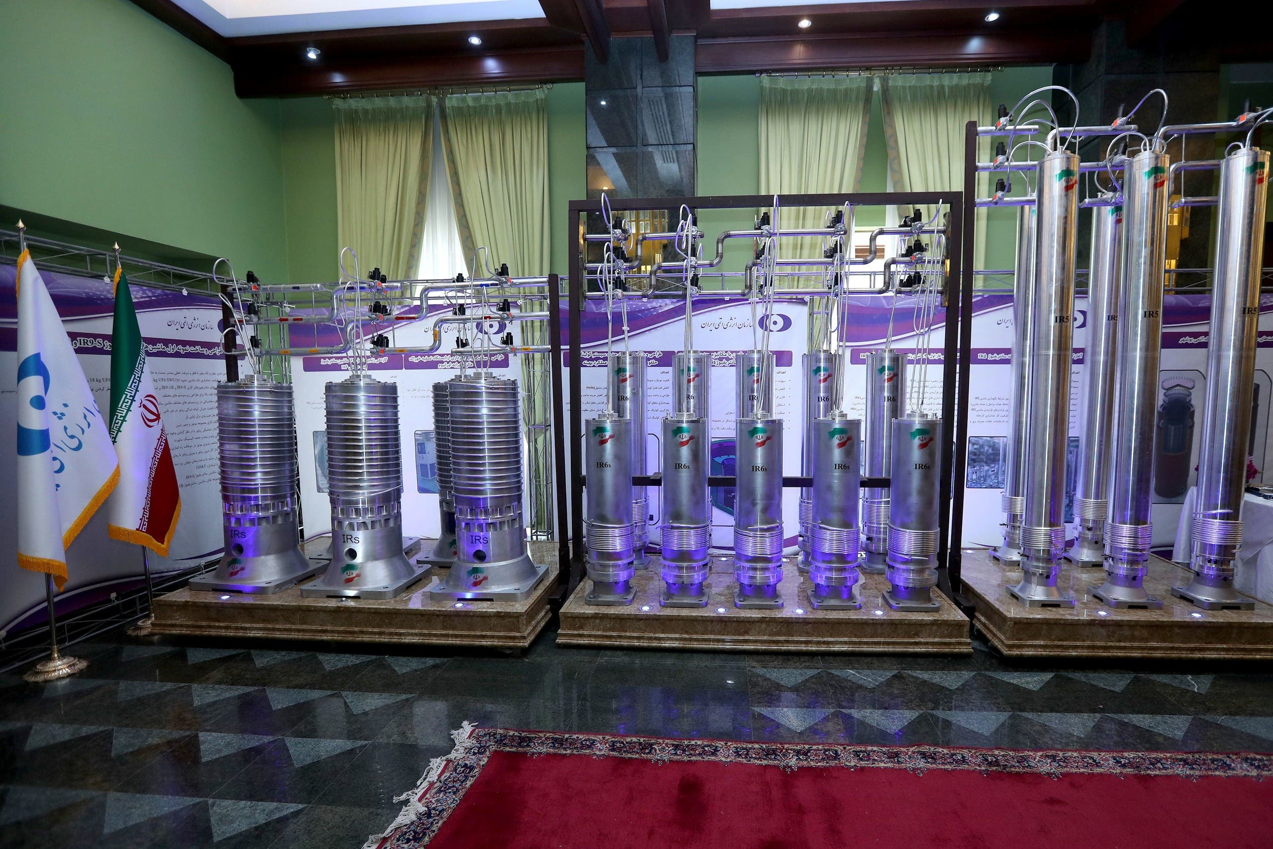 أجهزة طرد مركزي إيرانية في الجيل الجديد