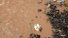 اليمن.. السيول تجرف الألغام الحوثية وتحذير للمواطنين