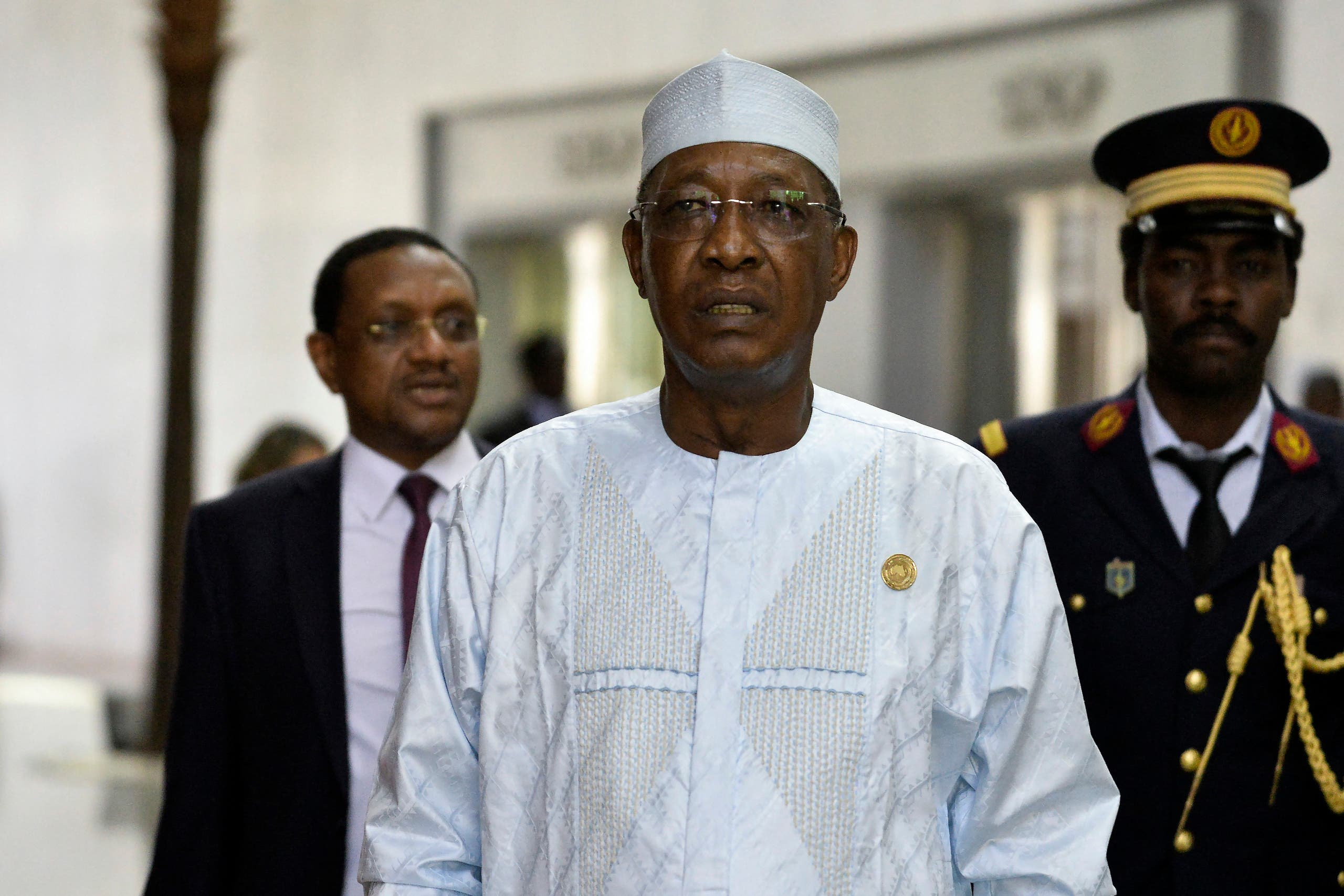 A file photo shows Chad's President Idriss Deby. (AFP)