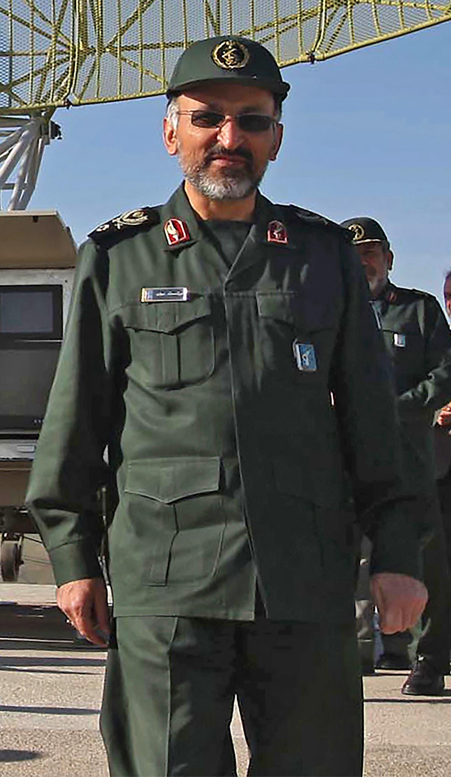 العميد الإيراني محمد حجازي، نائب قائد فيلق القدس للحرس الثوري (أرشيفية- فرانس برس)