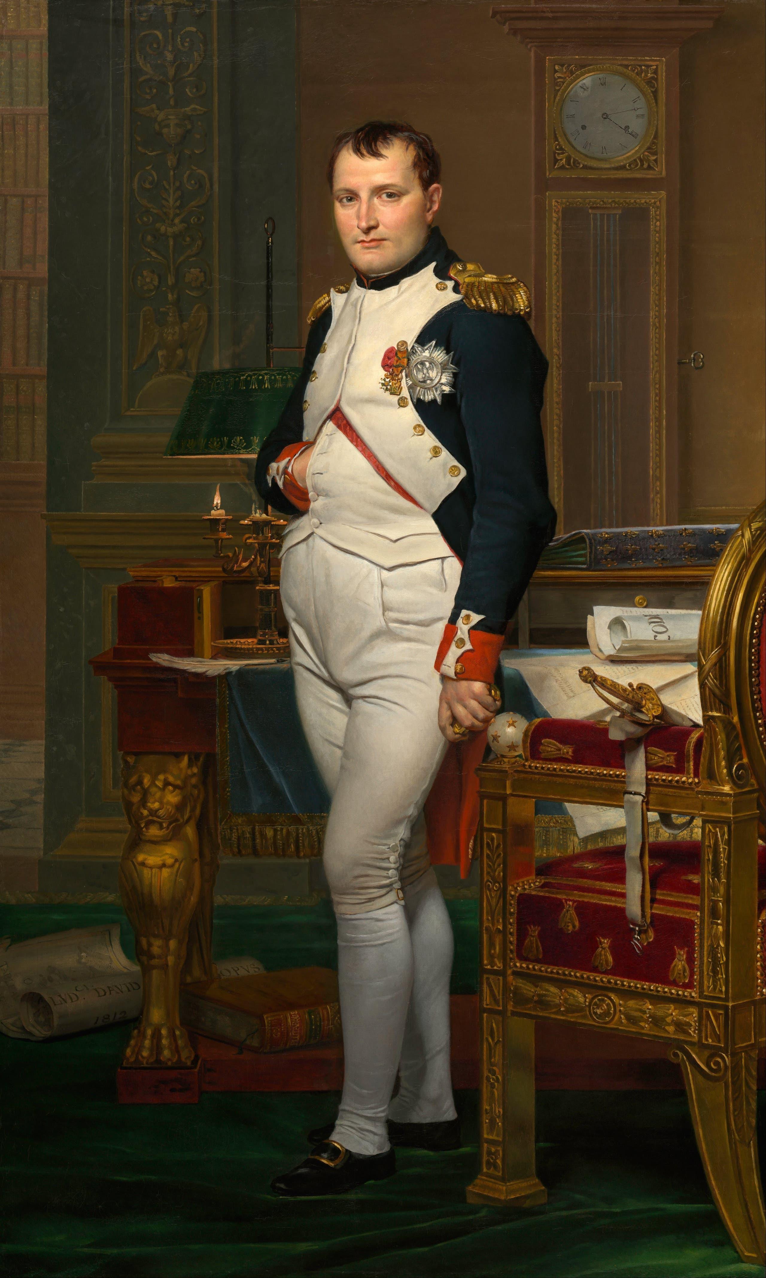 لوحة تجسد نابليون بونابرت