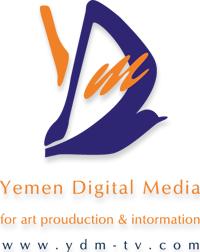 """صورة نشرتها مواقع يمنية لشعار شركة """"يمن ديجيتال ميديا"""""""