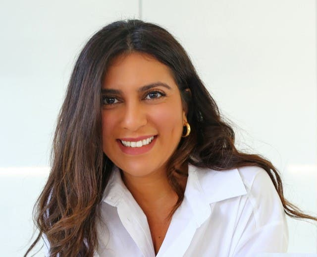 Dubai expat Angela Bishara, a former public relations executive who lost her job at the height of the pandemic, has created her own superfood brand OhMyGold, or OMG. (Supplied)