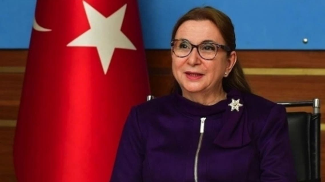 وزيرة التجارة التركية المقالة روهسان