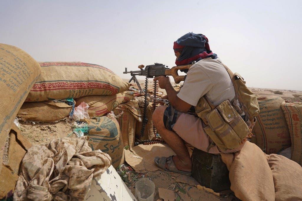 عنصر من الجيش اليمني - فرانس برس