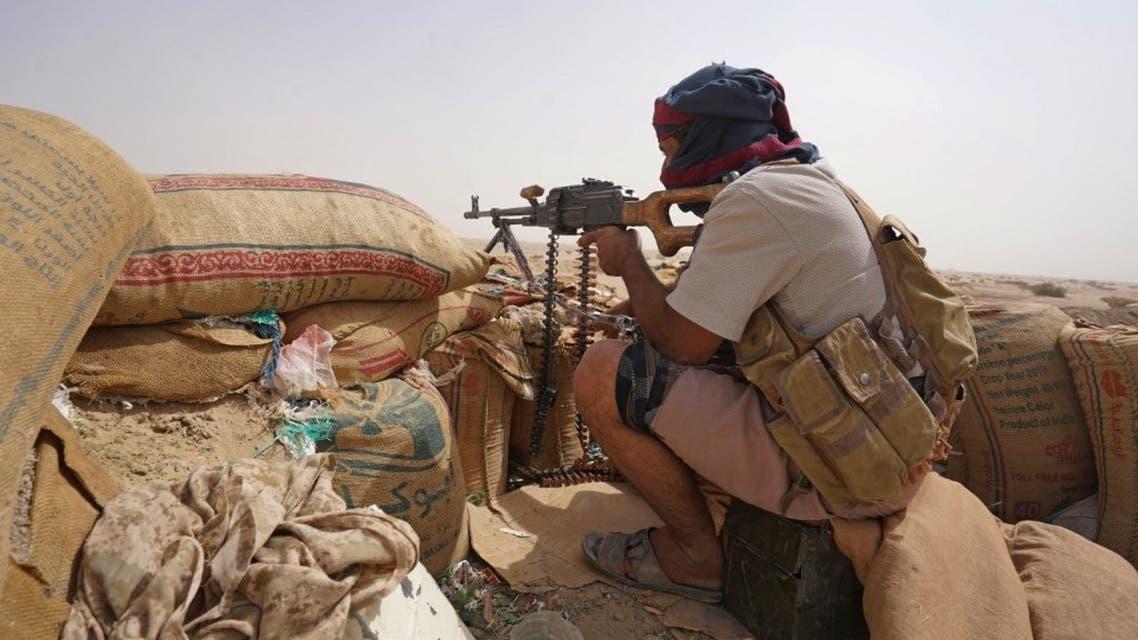 عنصر من الجيش اليمني في مأرب - فرانس برس