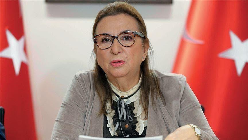 وزيرة التجارة التركية المقالة