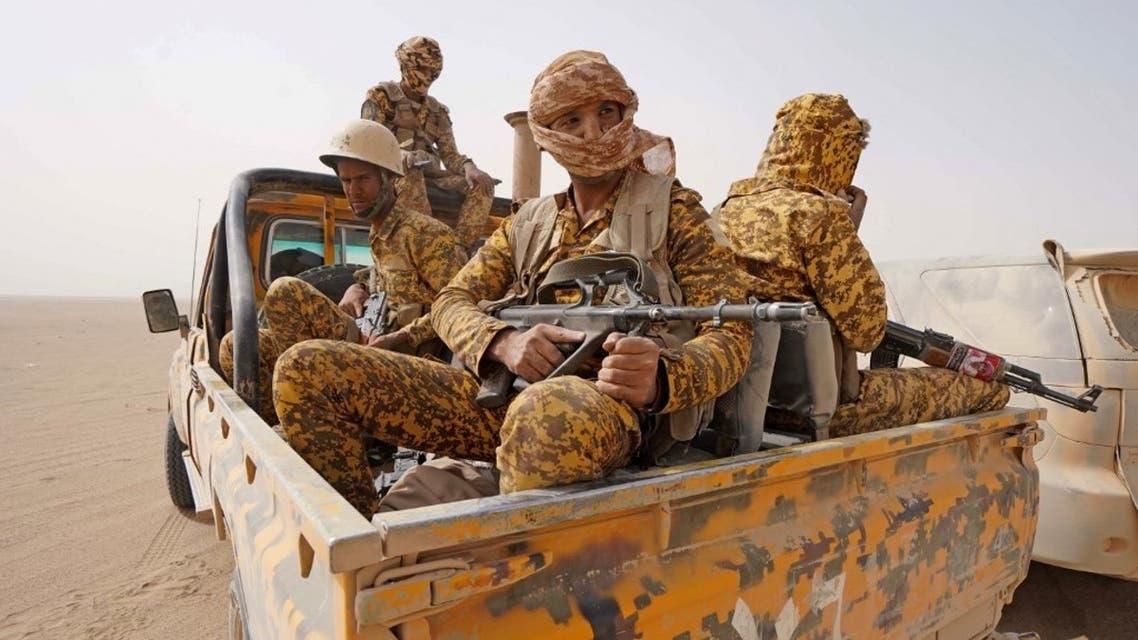 عناصر من الجيش اليمني في مأرب - فرانس برس