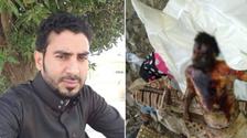 مشهد مروع.. ميليشيا الحوثي ترد مغتربا جثة محروقة لأهله