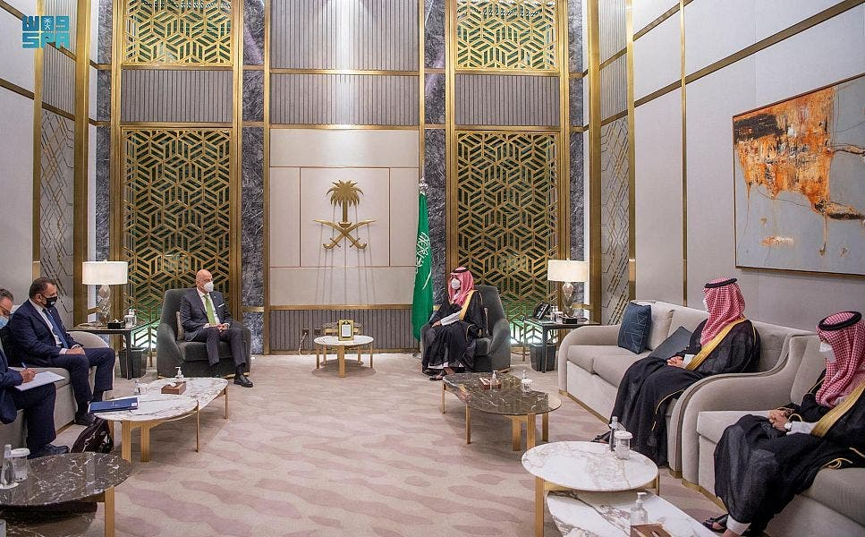 نشست هیئت سعودی و یونانی در ریاض