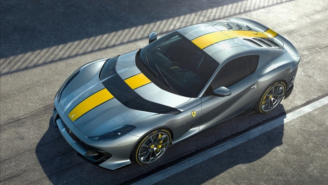Ferrari's latest limited-edition special series is seen in this handout photo obtained by Reuters on April, 21, 2021. (Ferrari/Handout via Reuters)