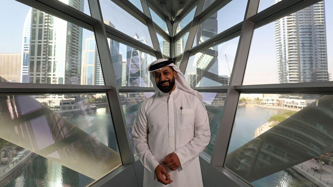 Ahmed Bin Sulayem, executive chairman of Dubai Multi Commodities Centre (DMCC), poses for a photograph at the Dubai Diamond Exchange in Dubai, United Arab Emirates. (Reuters)