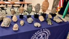 تصویری؛ 33 اثر باستانی به سفارت افغانستان در آمریکا سپرده شد